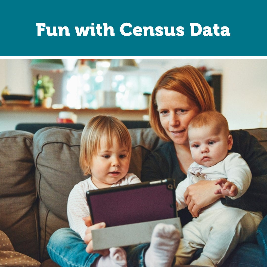 Fun with Census Data