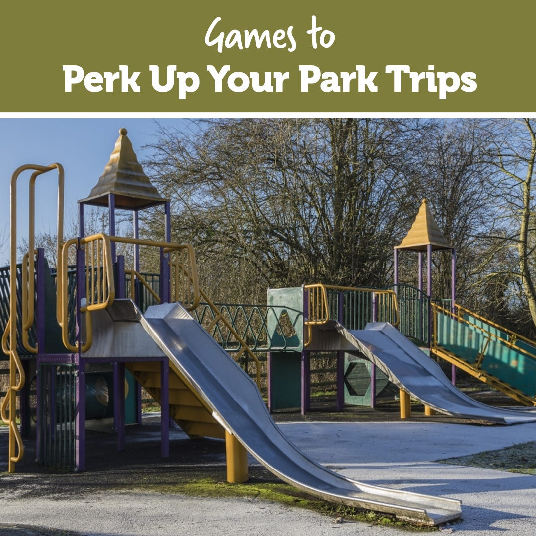 Games to Perk Up Your Park Trips