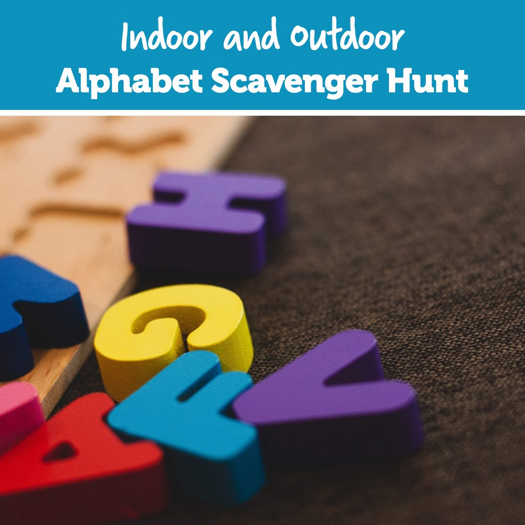 Outdoor Nature Exploration Scavenger Hunt