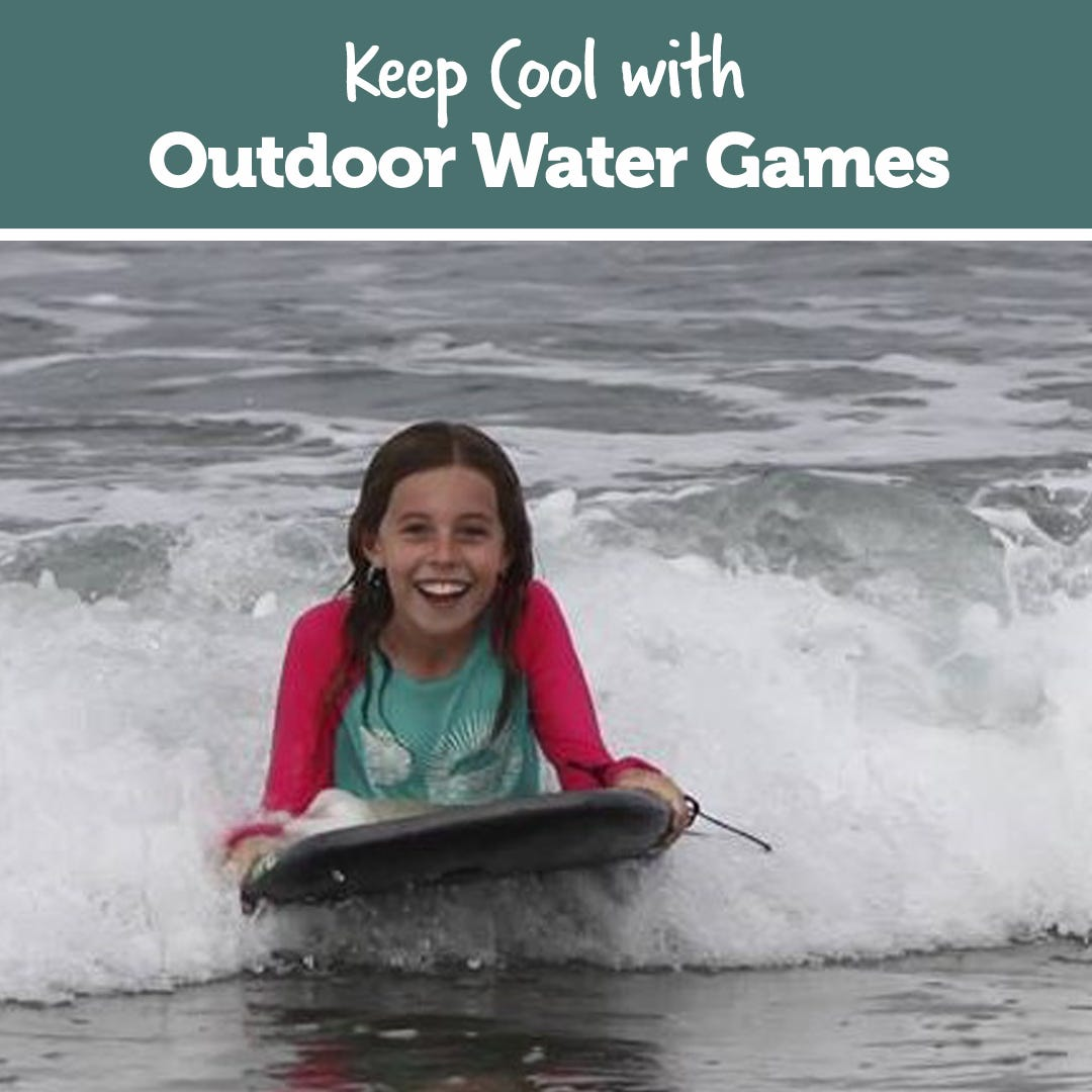 Keep Cool with Outdoor Water Games