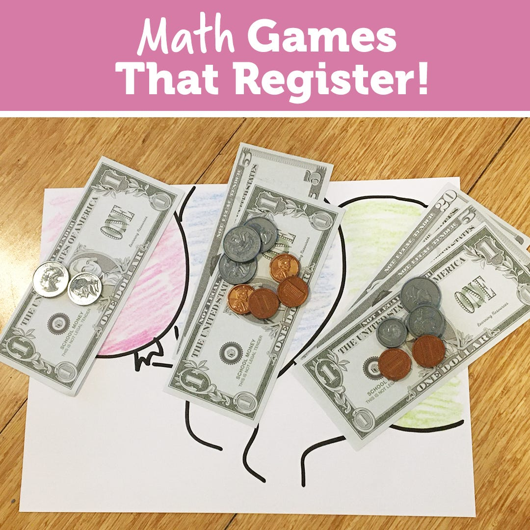 Math Games That Register
