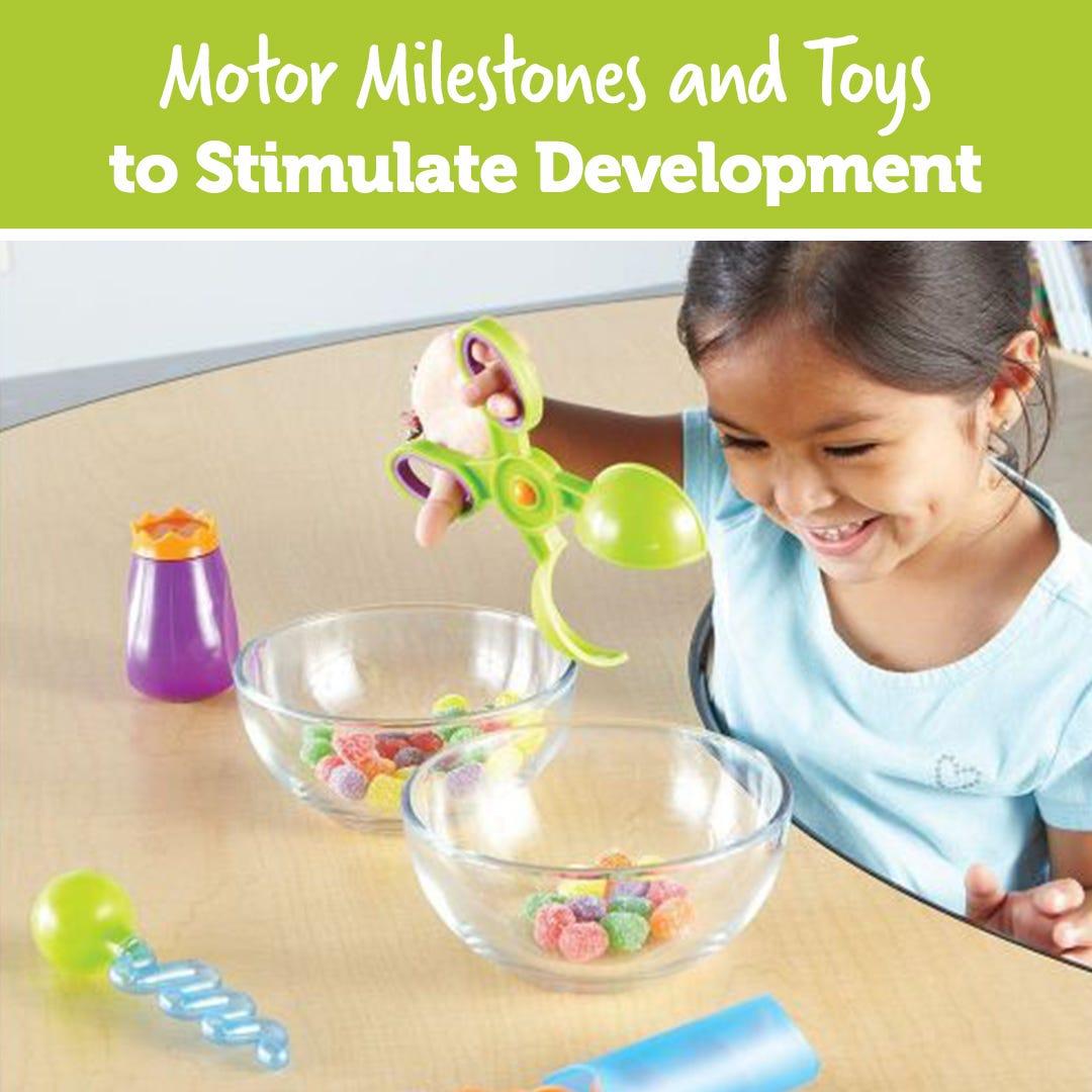 Motor Milestones and Toys to Stimulate Development
