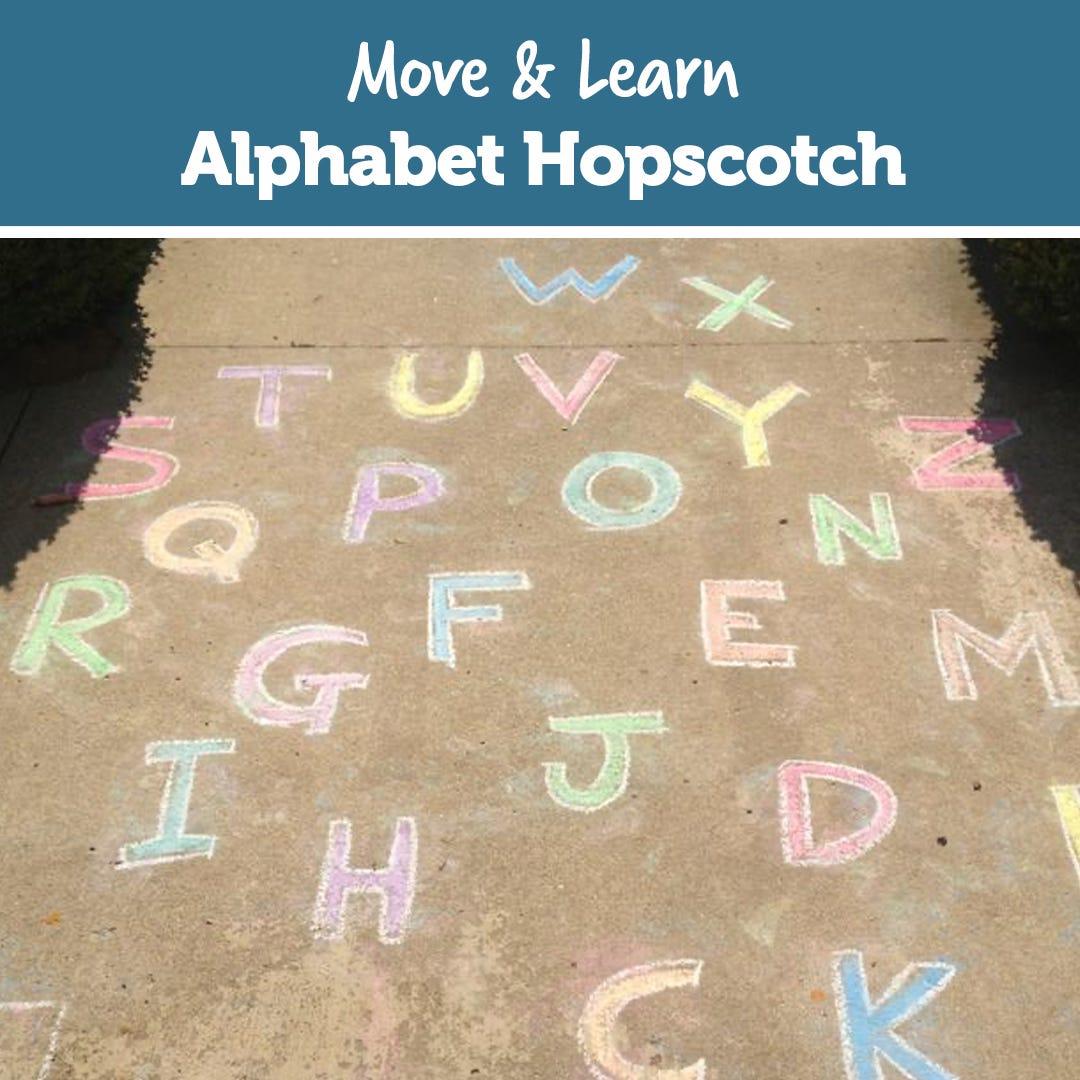 Move & Learn: Alphabet Hopscotch!
