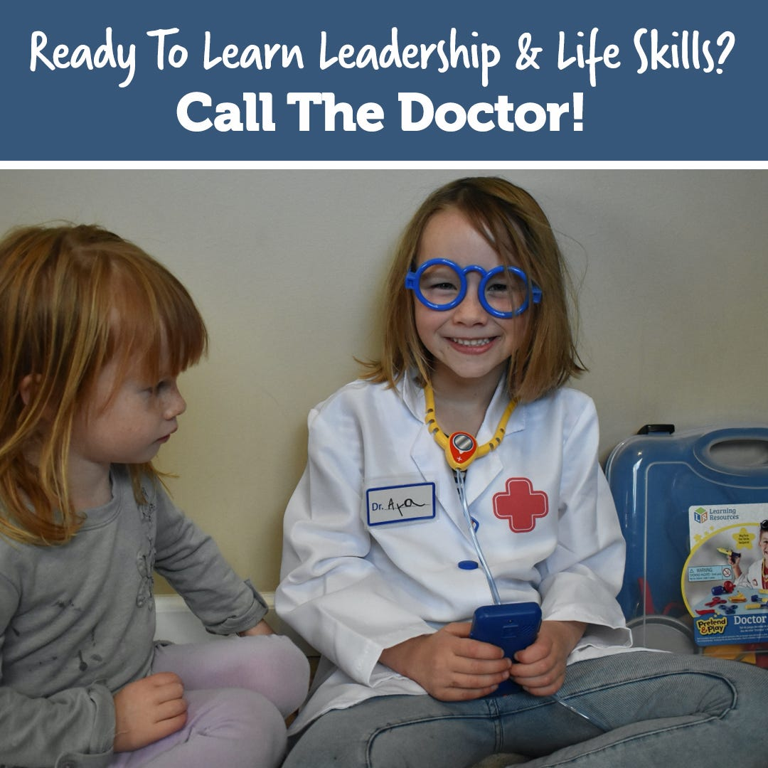 Ready To Learn Leadership & Life Skills? Call The Doctor!