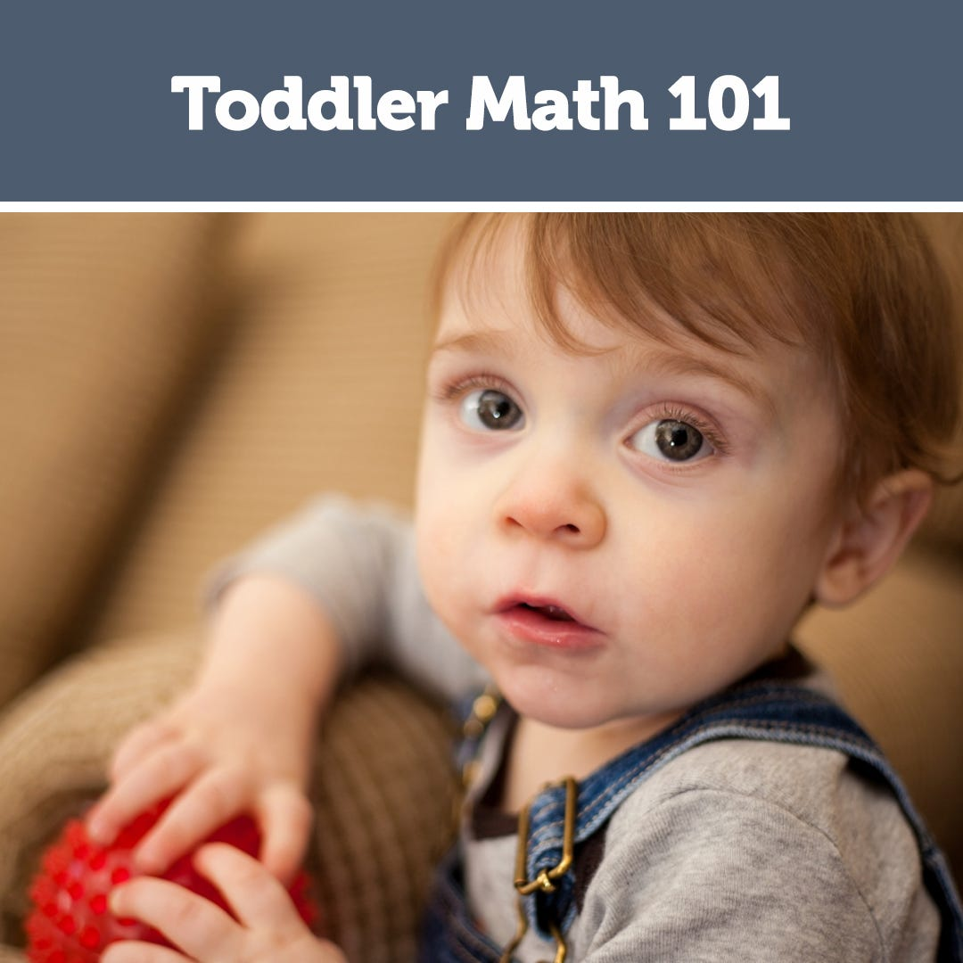Toddler Math 101