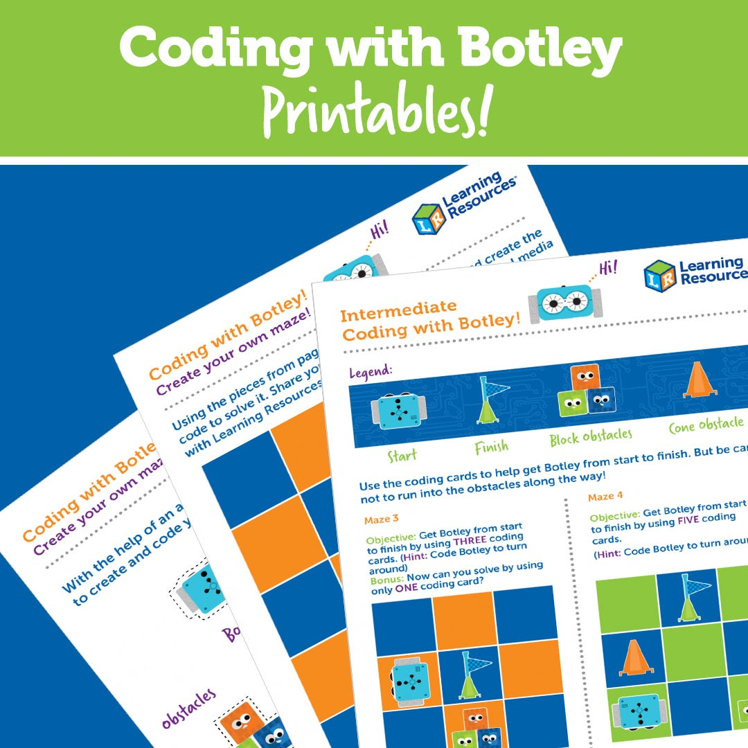 Coding with Botley Printables