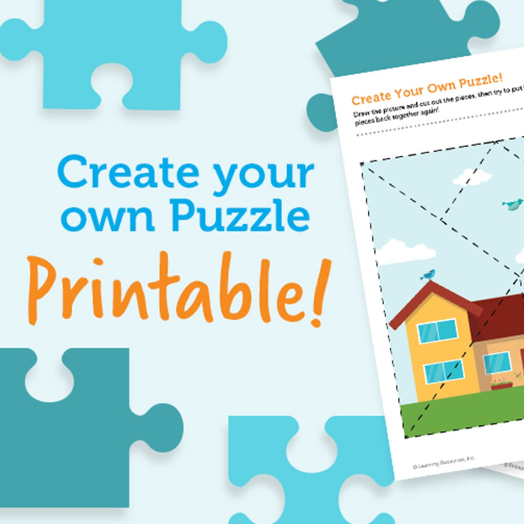 Make Your Own Puzzle Printable!