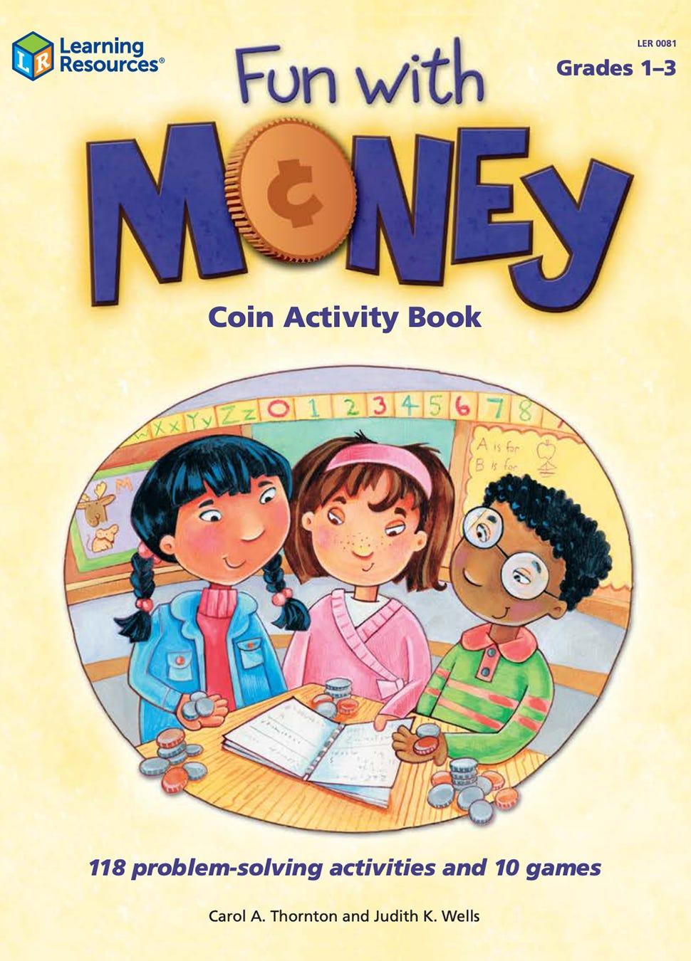 Fun with Money Coin Activity Book