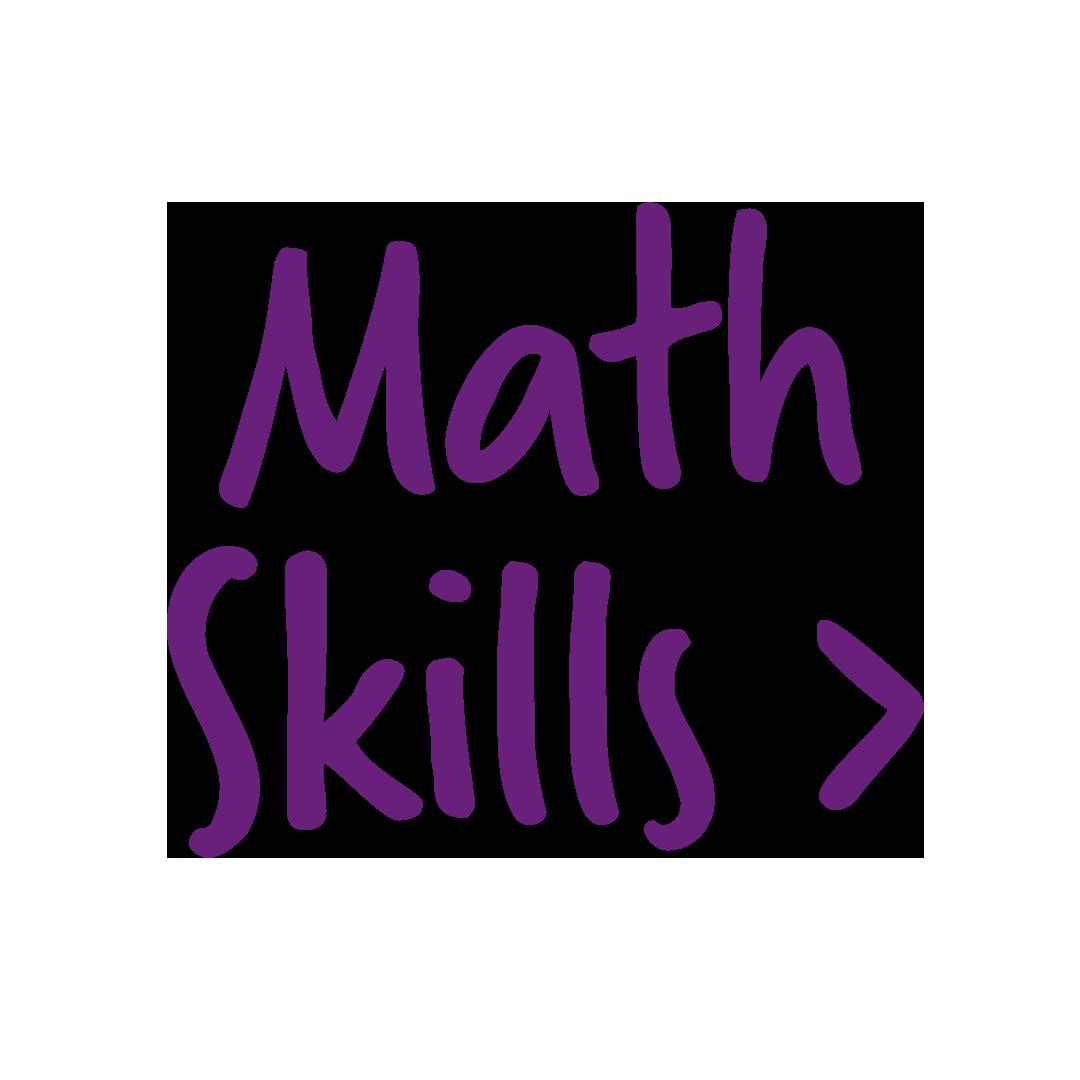 It's Math Skills Week!