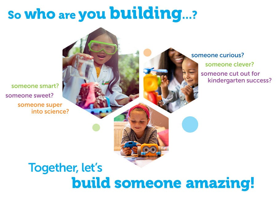 Together, let's build someone amazing!