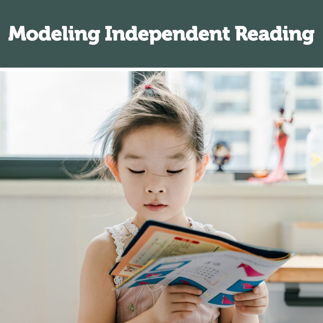 Modeling Independent Reading