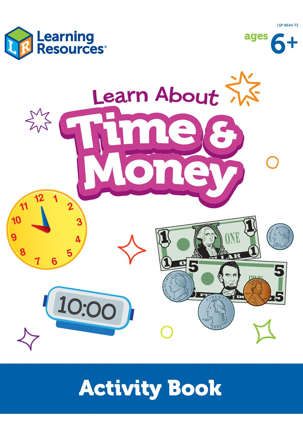 Learn About Time and Money Activity Book